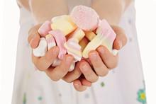 Poignée De Bonbons Guimauve