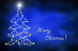 Leinwanddruck Bild - christmas background