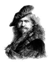 Holland - Man - Rembrandt - 17th Century