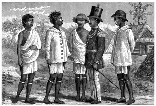Fotomural  Indigenous - 19th century