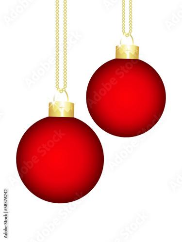 In de dag Bol kugel,kugeln,christbaumkugel,weihnachtskugel,rot,gold