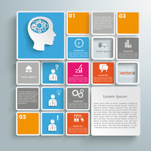 Mosaic Infographic Brainstorming