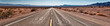 canvas print picture - Route 66 Panorama