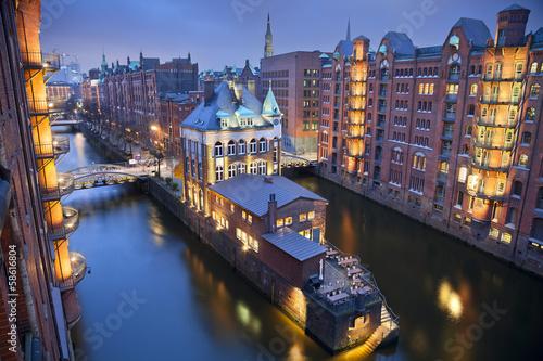 Fotografía  Hamburg- Speicherstadt.