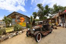 Vieux Tacot à Hackberry, Route 66