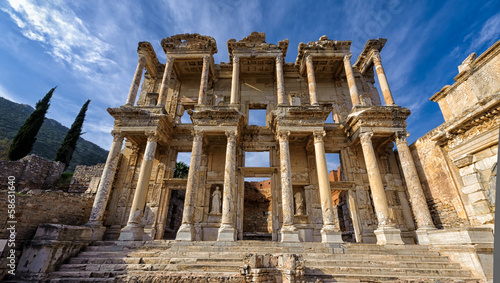 Aluminium Prints Turkey Library of Celsus