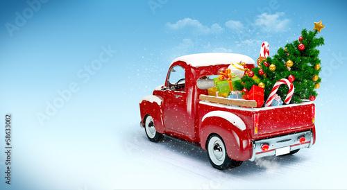 Foto-Doppelrollo - Christmas background (von ASTA Concept)