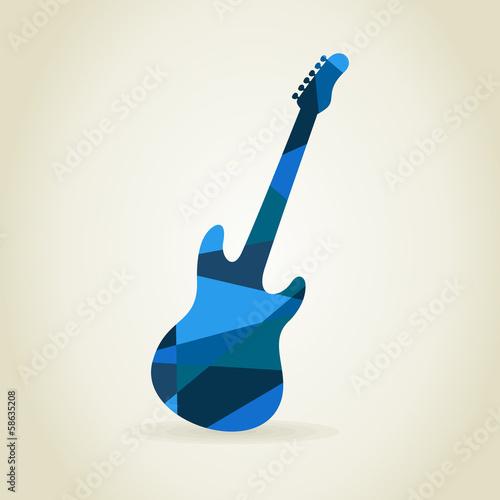Photo Guitar abstract