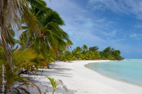 Fotografie, Obraz  Idyllic beach for relaxing