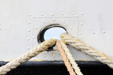 Rope For Mooring A Boat To A P...