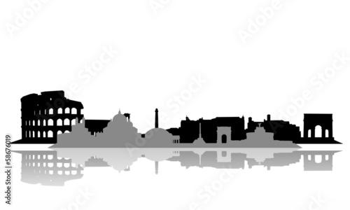 Photo Stands Kuala Lumpur Rom ~ Stadt ~ City ~ Skyline ~ Horizont ~ Silhouette