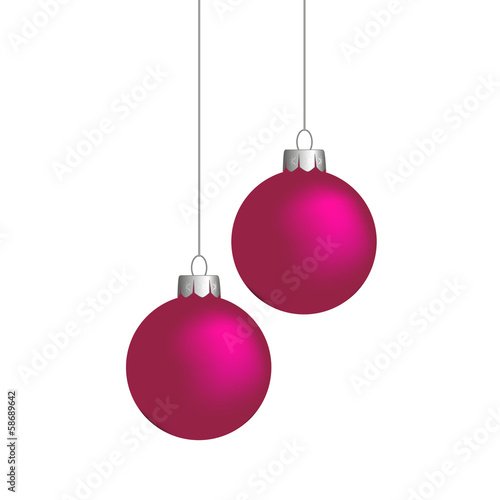 Weihnachtskugeln Pink.Weihnachtskugeln Pink Buy This Stock Vector And Explore Similar
