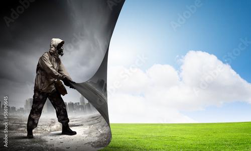 Slika na platnu Protect our planet