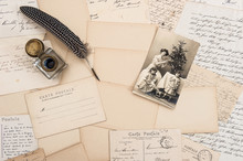 Old Letters, Vintage Postcards...