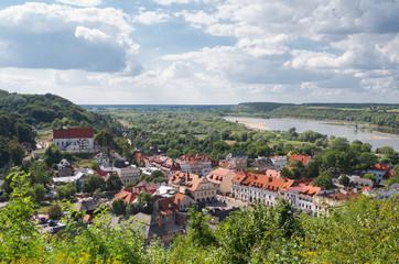 Fototapeta Architektura Panorama of Kazimierz Dolny, Poland