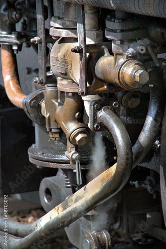 Foto op Plexiglas Motorsport Train à vapeur,