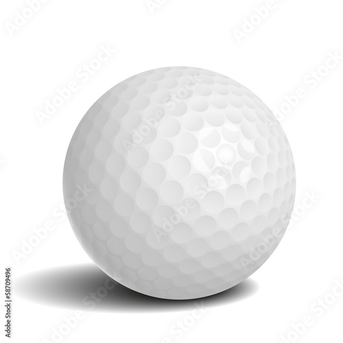 golf ball with shadow buy this stock vector and explore similar rh stock adobe com Golf Cart Vector Golf Vector Graphics
