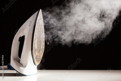 Fotografie, Obraz  steam generator iron