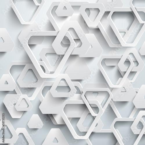 Plakaty wzór 3D