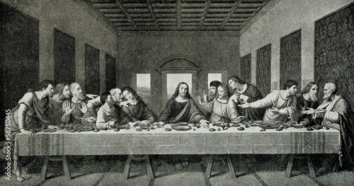 The Last Supper (Leonardo da Vinci; 1498)