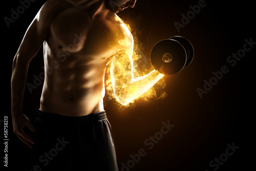 Photo  Burning Muscles