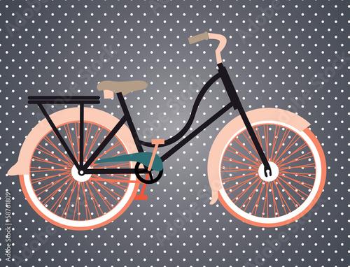Fototapety, obrazy: bicycle design