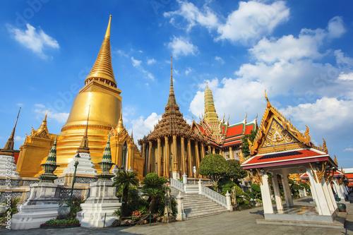 Montage in der Fensternische Bangkok Wat Phra Kaew, Bangkok, Thailand