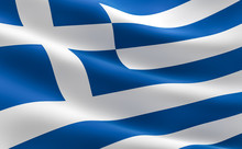 Greek Flag - Hellenic Republic