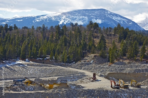 Fotografia, Obraz  Gold Mine in Colorado