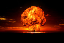 Nuclear Explosion In An Outdoo...