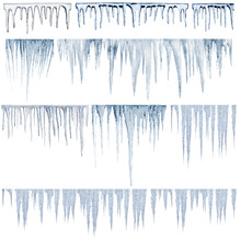 Icicles Catalog Of Diferent And Real Type