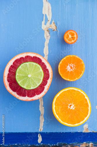 Citrus proportion Canvas Print