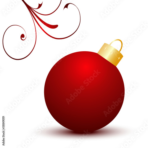 Weihnachtskugeln Vorlage Kostenlose Vektor