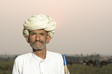 Farmer,  Turban, Costume, Raja...