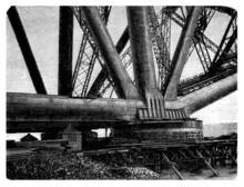 Construction : Bridge - Brücke - Pont - 19th Century