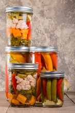 Pickled Mixed Vegetables Home Canning