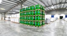 Lagerhalle Chemiegüter // Industrial Storehouse