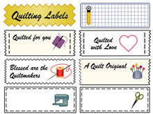 Quilting Sewing Labels, Copy S...