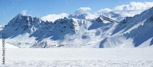 Foto op Aluminium Bergen Picture of the fine mountainaous view