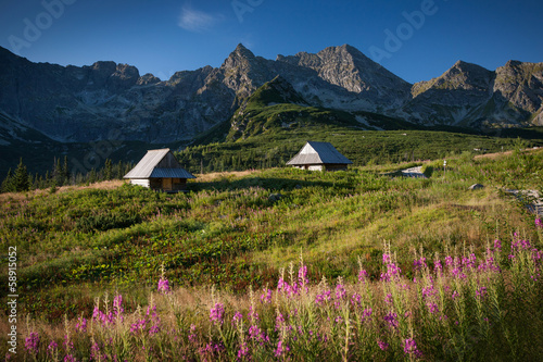 Tatra Mountains, Spring in Gasienicowa Valley