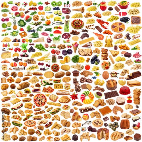 global food collage - 58916208