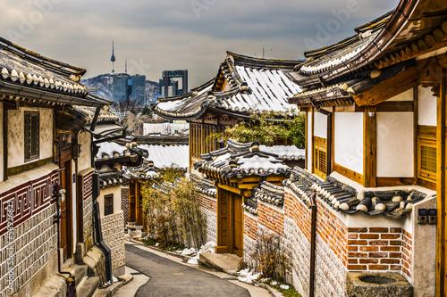 Zdjęcie XXL Historyczne sąsiedztwo Seulu