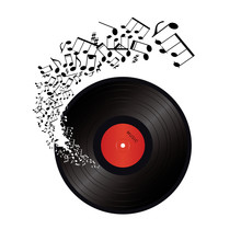 Music Notes Coming Out Of The ...