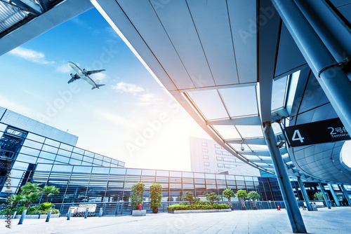 Shanghai Pudong Airport road Poster