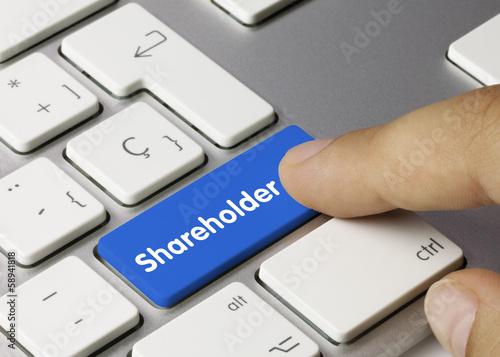Fotografía  Shareholder. Keyboard