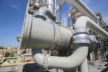 Heat exchanger in industrial plant