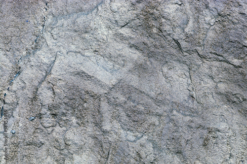 texture of a gray stone wall