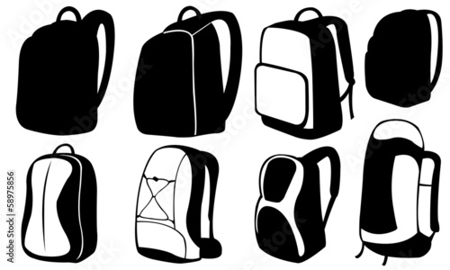 Obraz backpack - fototapety do salonu