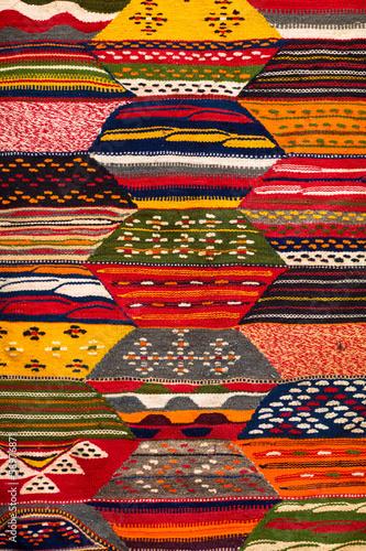 Staande foto Afrika Moroccan carpet