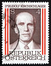 Postage Stamp Austria 1980 Rud...